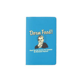 Dorm Food: Survive Microwave Popcorn Pocket Moleskine Notebook