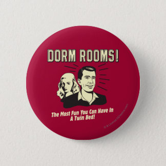 Dorm Room: Most Fun Twin Bed 2 Inch Round Button