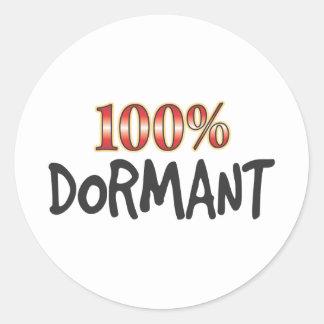 Dormant 100 Percent Stickers