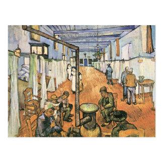 Dormitory in the Hospital in Arles by van Gogh Postcard