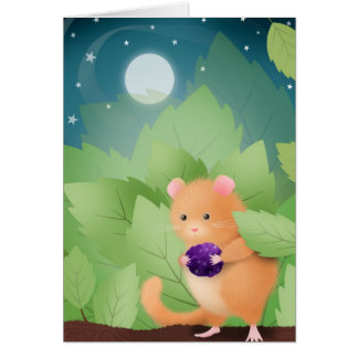 Dormouse Dinner - greeting cards