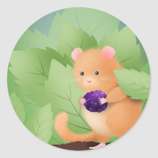 Dormouse Dinner sticker - customize!