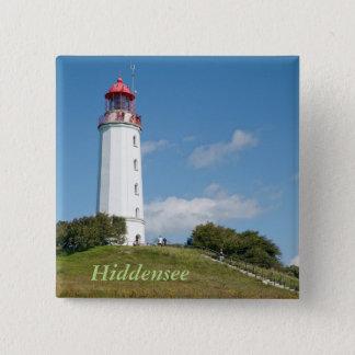 Dornbusch lighthouse 2 inch square button