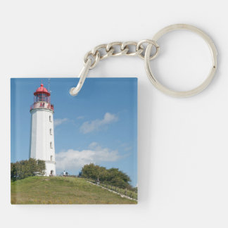 Dornbusch lighthouse Double-Sided square acrylic keychain