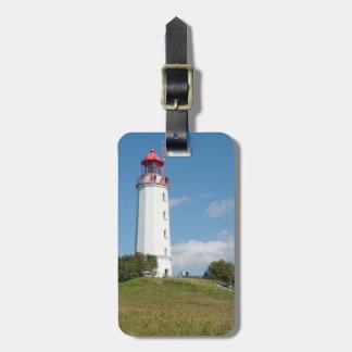 Dornbusch lighthouse luggage tag