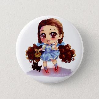 Dorothy 2 Inch Round Button