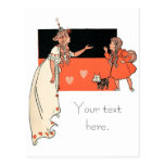 Dorothy and Glinda, Wizard of Oz Postcard
