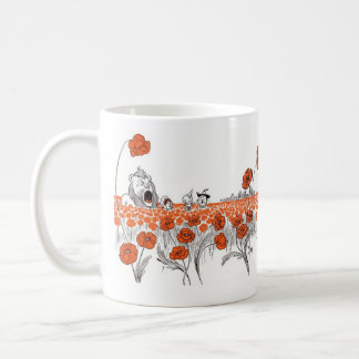 Dorothy and the Poppies Coffee Mug