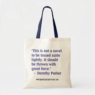 Dorothy Parker Book Bag