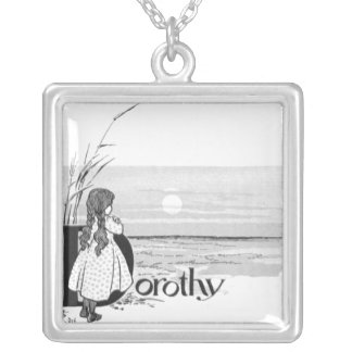 Dorothy Silver Plated Necklace