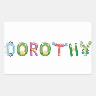 Dorothy Sticker