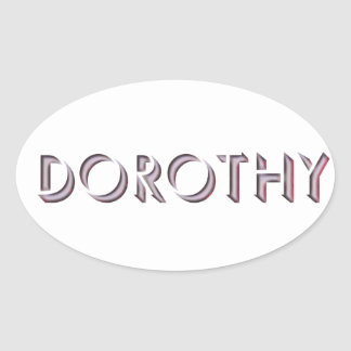 Dorothy sticker name