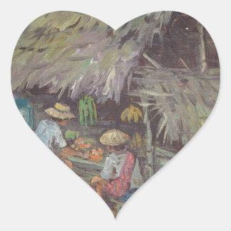 dorpstafereel25 heart sticker