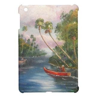 Dorsal Fishing Post - Fish Camp St. Lucie River iPad Mini Covers