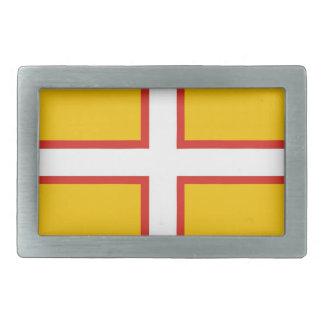 dorset flag belt buckle united kingdom region