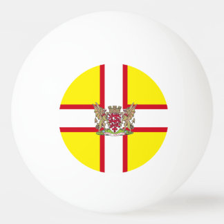 Dorset flag ping pong ball