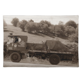 Dorset Steam Fair Sentinel Wagon Tiger Place Mat