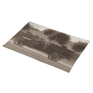 Dorset Steam Fair Vintage American Water Tanker Placemats