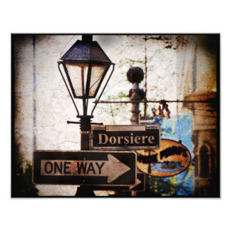 Dorsiere New Orleans Art Photo