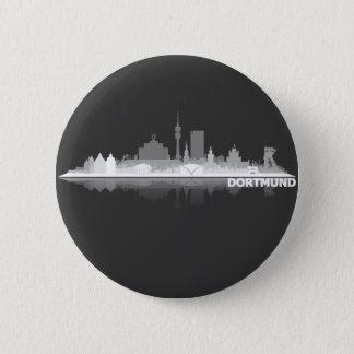 Dortmund town center of skyline button