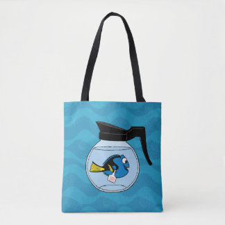 Dory   A Fish Out of Water Tote Bag