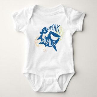 Dory & Destiny   I Speak Whale Baby Bodysuit