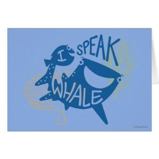 Dory & Destiny | I Speak Whale Card