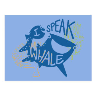 Dory & Destiny | I Speak Whale Postcard