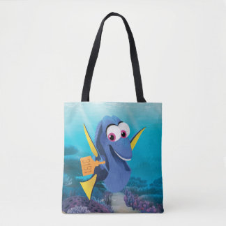 Dory   Finding Who Tote Bag
