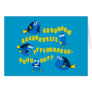 Dory | How Are You? Card