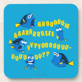 Dory | How Are You? Drink Coasters