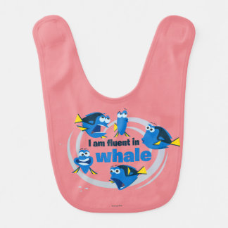 Dory | I am Fluent in Whale Baby Bibs
