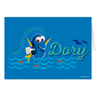Dory | Just Keep Swimming Card