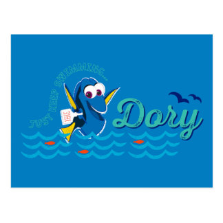Dory | Just Keep Swimming Postcard