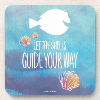 Dory | Let the Shells Guide Your Way Beverage Coaster
