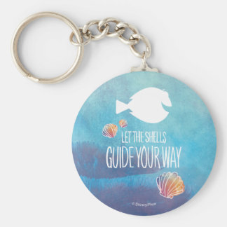 Dory | Let the Shells Guide Your Way Keychain