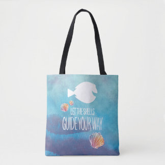 Dory   Let the Shells Guide Your Way Tote Bag