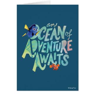 Dory & Nemo | An Ocean of Adventure Awaits Card
