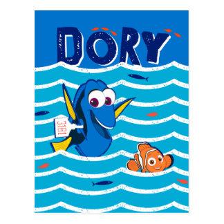 Dory & Nemo Love to Swim Postcard