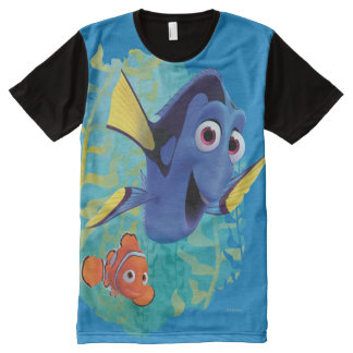 Dory & Nemo | Swim With Friends All-Over-Print T-Shirt