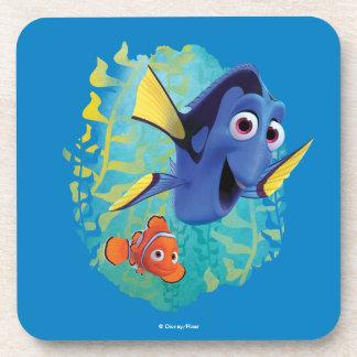 Dory & Nemo   Swim With Friends Coasters