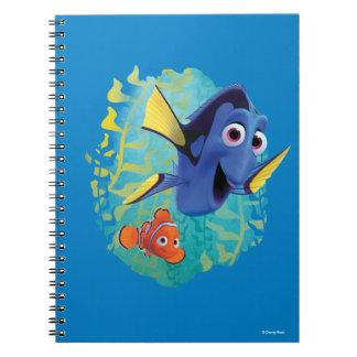 Dory & Nemo | Swim With Friends Spiral Note Book