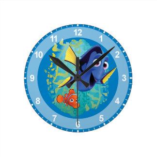 Dory & Nemo   Swim With Friends Wall Clocks