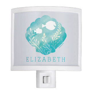 Dory & Nemo   Watercolor Shell Graphic - Add Your Night Light