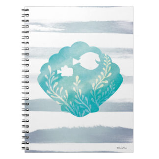 Dory & Nemo | Watercolor Shell Graphic Notebook