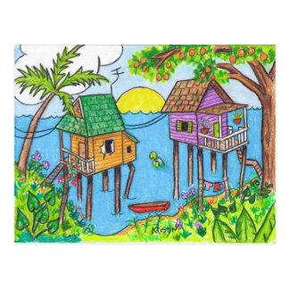 Dos Casas postcard