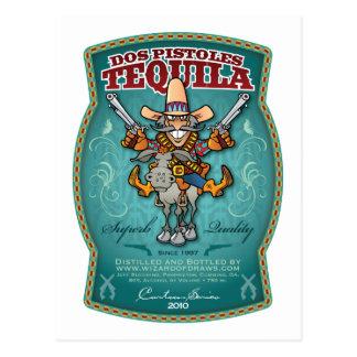 Dos Pistoles Tequila Postcard