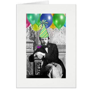 Dostoevsky birthday card no. 1
