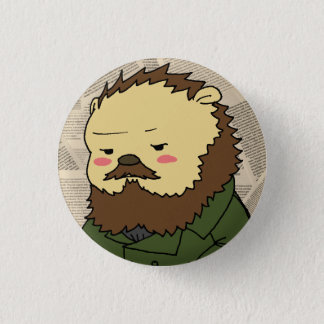Dostoevsky cameo button
