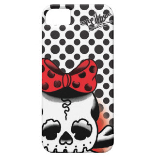 Dot Dokuro-Chan White Case For The iPhone 5